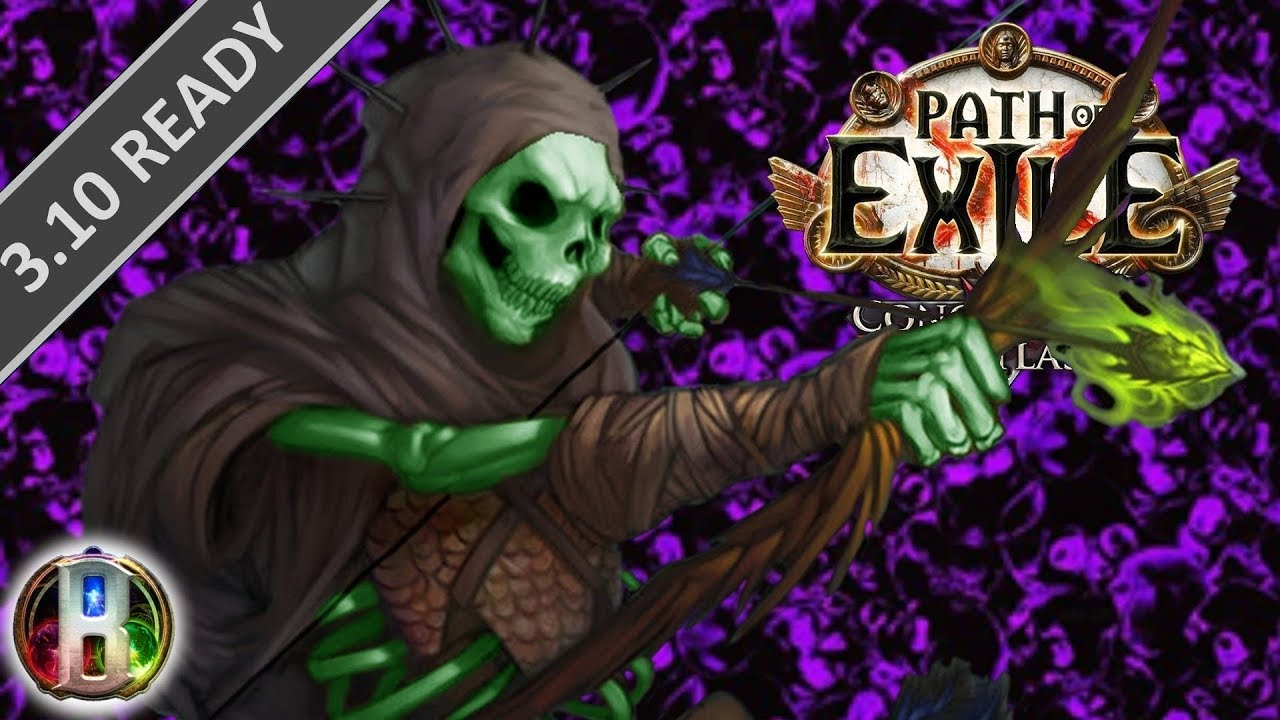 discount sale latest discount best prices Path of Exile 3.8 - Caustic Arrow Build - Pathfinder Ranger - Blight poe