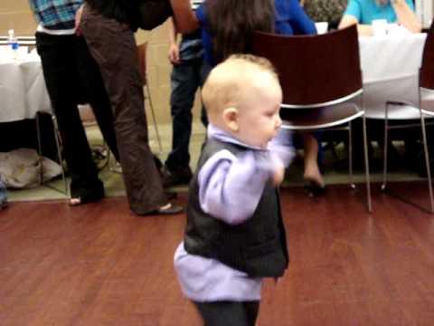 Dancing Baby At Wedding