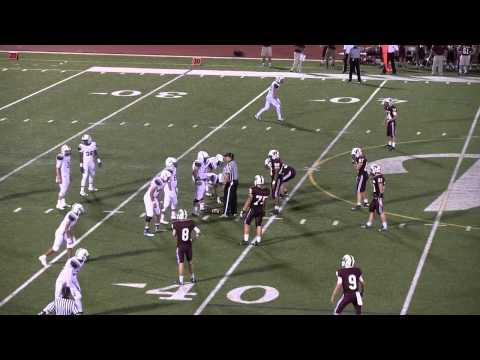 The Walker School varsity football vs Whitefield, 2014