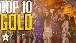 Download lagu Top 10 Unforgettable Golden Buzzers on America s Got Talent Got Talent Global