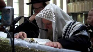 Rabbi Yechezkel Roth Saying Tehillim in Bobov (48)