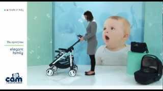 Cam Elegant Family(Видео обзор коляски Cam Elegant Family 2 в 1 (Италия). Узнайте подробнее и купите коляску на сайте: http://kidlife.com.ua/cam-elegant-f..., 2012-08-20T18:00:45.000Z)