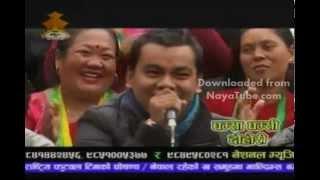 Raju dhakal and kalika Roka live dohori
