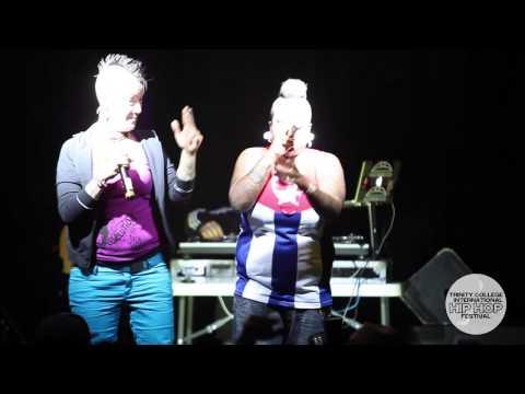 Las Krudas (Cuba): Trinity College International Hip Hop Festival 2013
