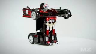 видео Радиоуправляемый робот-трансформер MZ Chevrolet Camaro 1:14 2.4G MZ-2314K