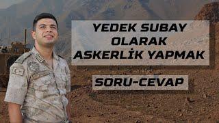 Yedek Subay (ASTEĞMEN) Olarak Askerlik Yapmak | Soru-Cevap