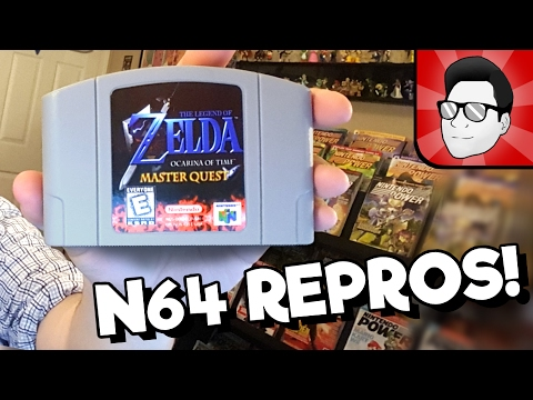 N64 Repros are Real! WORKING Zelda Master Quest, and How to Spot a Fake Cartridge