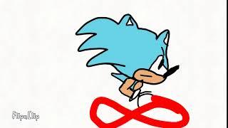 Sonic CD Animación de Prueba:Velocidad Corriendo