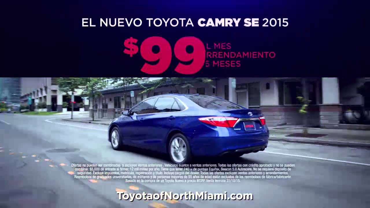 toyota of north miami tnm 0101 h model year end sales event spanish youtube. Black Bedroom Furniture Sets. Home Design Ideas