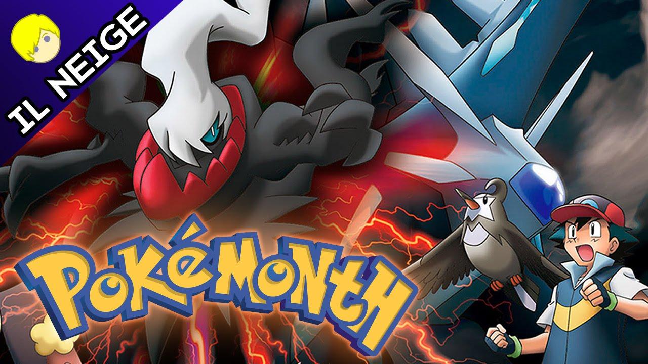 Pokemon The Rise Of Darkrai Movie Review Il Neige Youtube