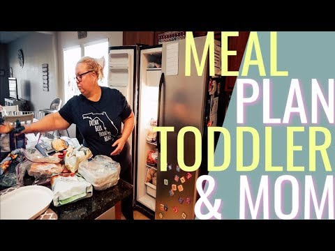 MOM & TODDLER MEAL PLANNING//CLEAN AND ORGANIZE MY FREEZER/Heather McCarthy