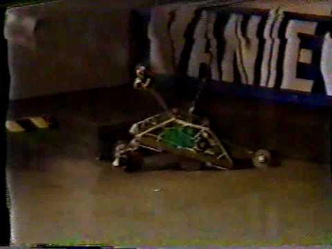 Bot Will Eat Itself vs. RedGreen, 1st Angle: Robot Wars 97, 81997