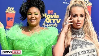 Tana Mongeau & Lizzo's Outfits Go VIRAL At 2019 MTV Movie & TV Awards