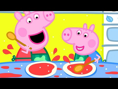 🍳 Peppa Pig's Breakfast Club! 🍳 Peppa Pig Official Channel