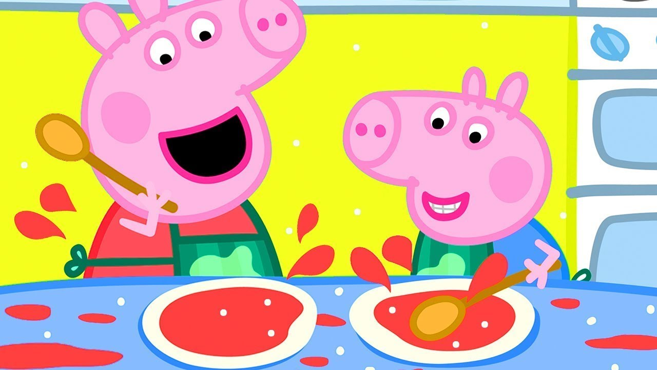 Peppa Pig Official Channel 🍳 Peppa Pig's Breakfast Club!