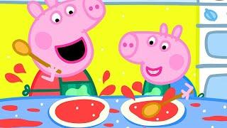 Peppa Pig's Breakfast Club!  Peppa Pig Official Channel