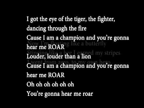RoarKaty Perry Lyrics *LEAKED* Full Version (+ download)