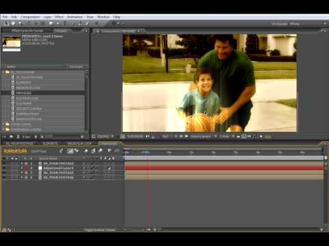 TUTORIAL: Free After Effects Templates: The Colorizer