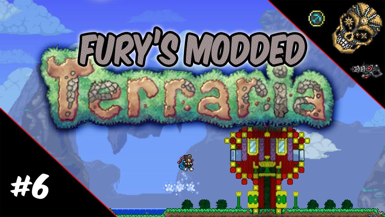 Fury's Modded Terraria | Episode 5: King Slime, Grand Thunderbird and Giant  Slime!