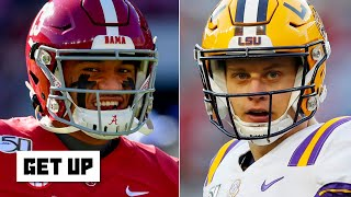 Comparing Tua and Joe Burrow to Tom Brady and Aaron Rodgers | Get Up