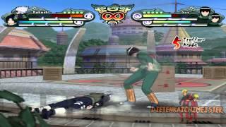 Naruto: Clash of Ninja Revolution 2 Gameplay on Dolphin Emulator [Full HD]