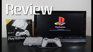 PlayStation Classic Unboxing, Startup, Size Comparison, and Review. Did Sony drop the ball?
