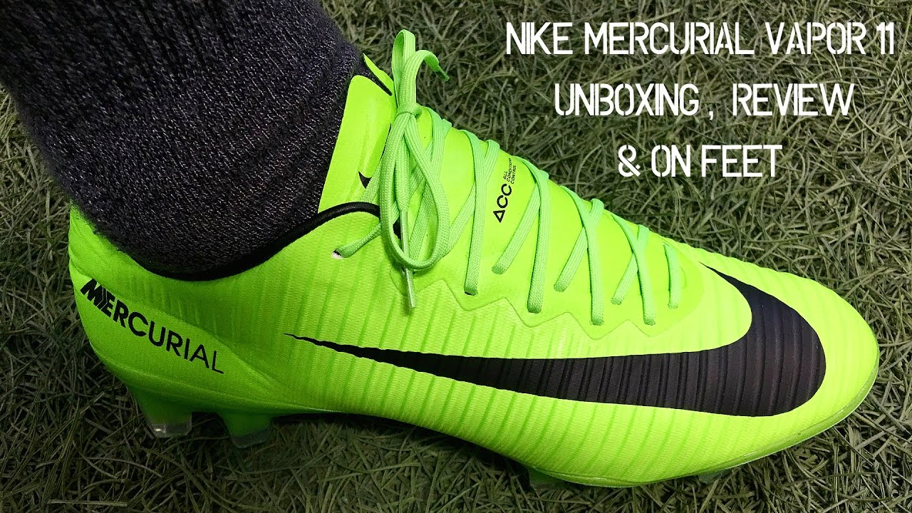 sneakers for cheap 8c99c 59e33 Nike Mercurial Vapor 11 (Radiation Flare Pack) - Unboxing, Review & On Feet
