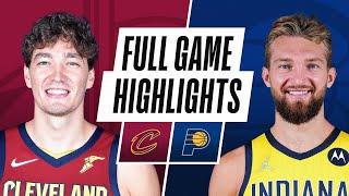 CAVALIERS at PACERS   NBA PRESEASON FULL GAME HIGHLIGHTS   October 15, 2021