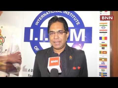 5th International YOUNG CHEF OLYMPIAD Press Conference at IIHM, Indiranagar, Bengaluru