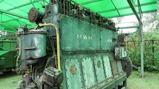 RUSYA'DA ALMAN DENİZALTI MOTORU BULDUM (S-400'ün Dedesi Katyusha'da Burada)