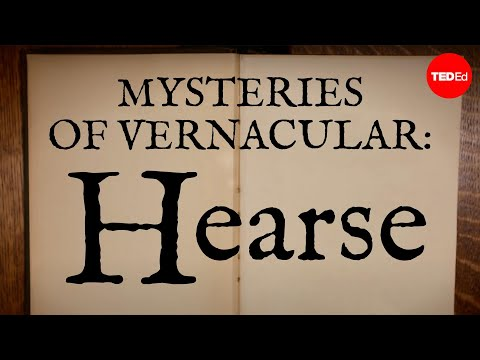 Video image: Mysteries of vernacular: Hearse - Jessica Oreck