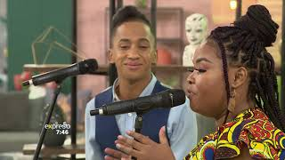 """Music: Elwira Standili & Cheswyn Ray perform """"Can't Give Up Now"""" - Gospel Music"""