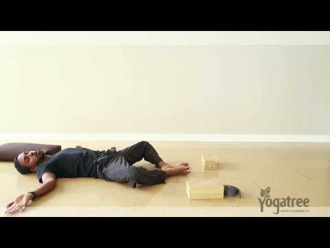 How to Do a Reclined Bound Angle Pose - Step by Step Breakdown Yoga Tutorial