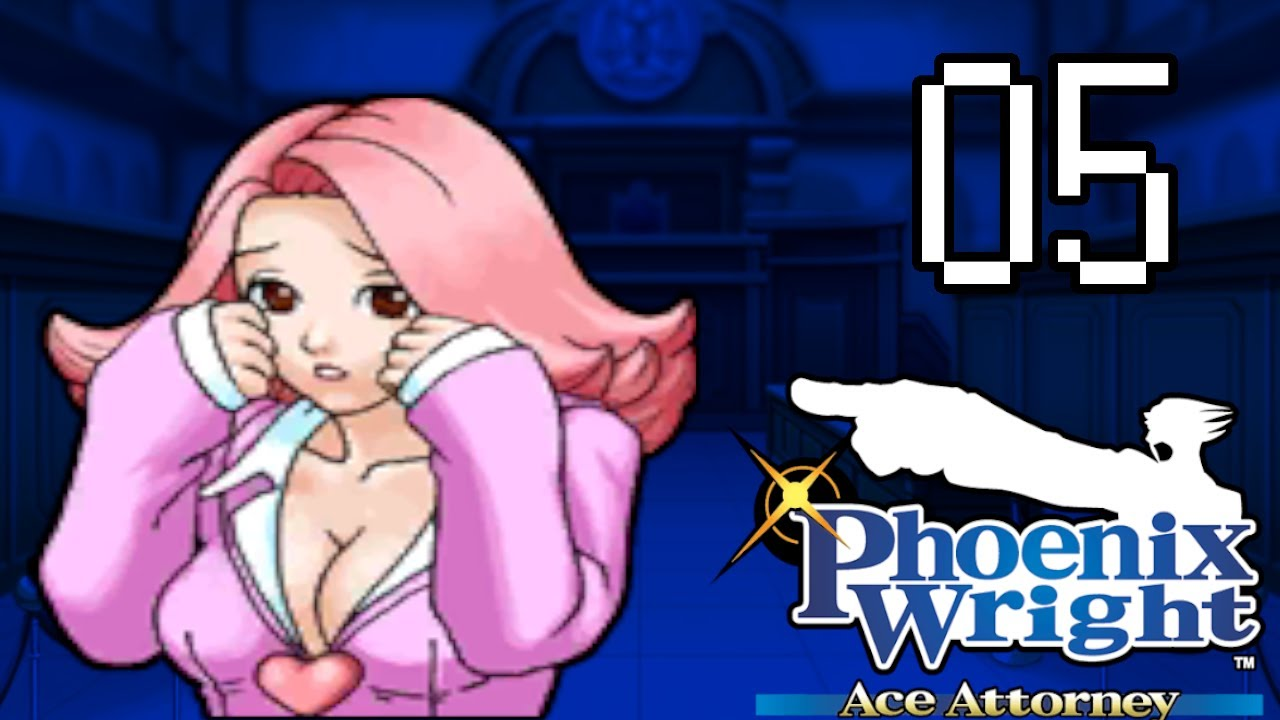 APRIL MAY IM ZEUGENSTAND   Lets Play PHOENIX WRIGHT ACE