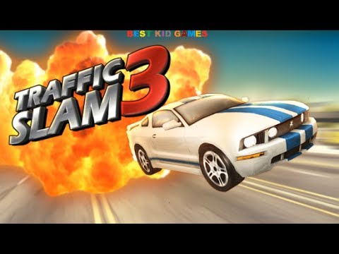 traffic slam 3 car crashing game 3d best kid games youtube