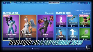 Fortnite: Shop of September 8, 2019, New astroassassin skin, full angular flow