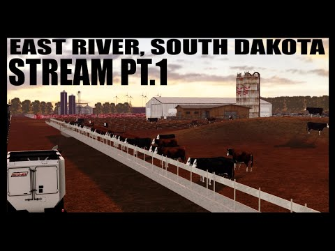 East River, SD Map Stream Pt.1 & Merry Christmas!