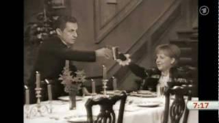 Dinner for one feat. Sarkozy und Merkel