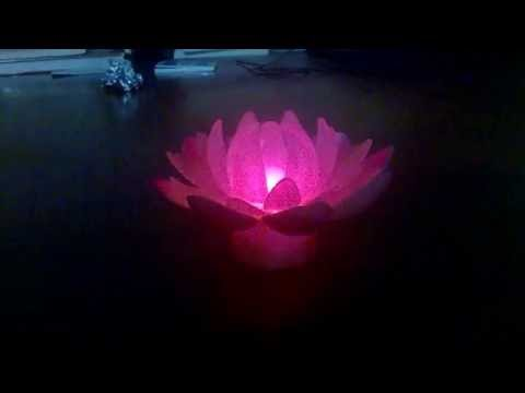 led蓮花燈 led lotus light oo3