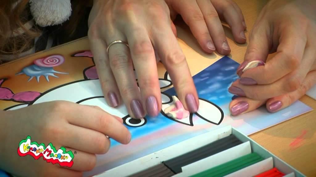 Раскраски Раскрась пластилином - YouTube