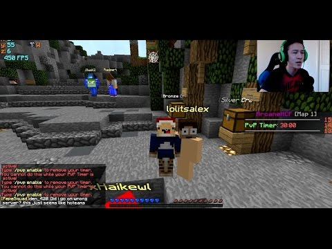 [Arcane] Lets Play #1 - FOUND SOMEONE WHILE MINING + PAINFULPVP ALLOWS PETS??? (Map 1)