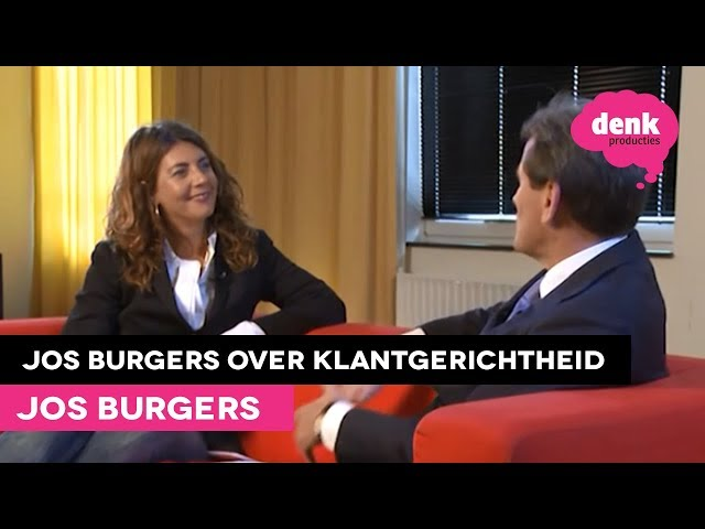 Jos Burgers: Klantgerichtheid (Interview)