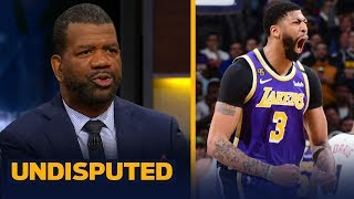 AD is the reason the Lakers are title contenders and LeBron knows it — Rob Parker | NBA | UNDISPUTED