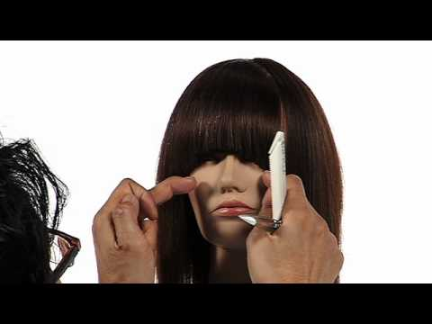 Twist Cutting Technique Fringe Youtube