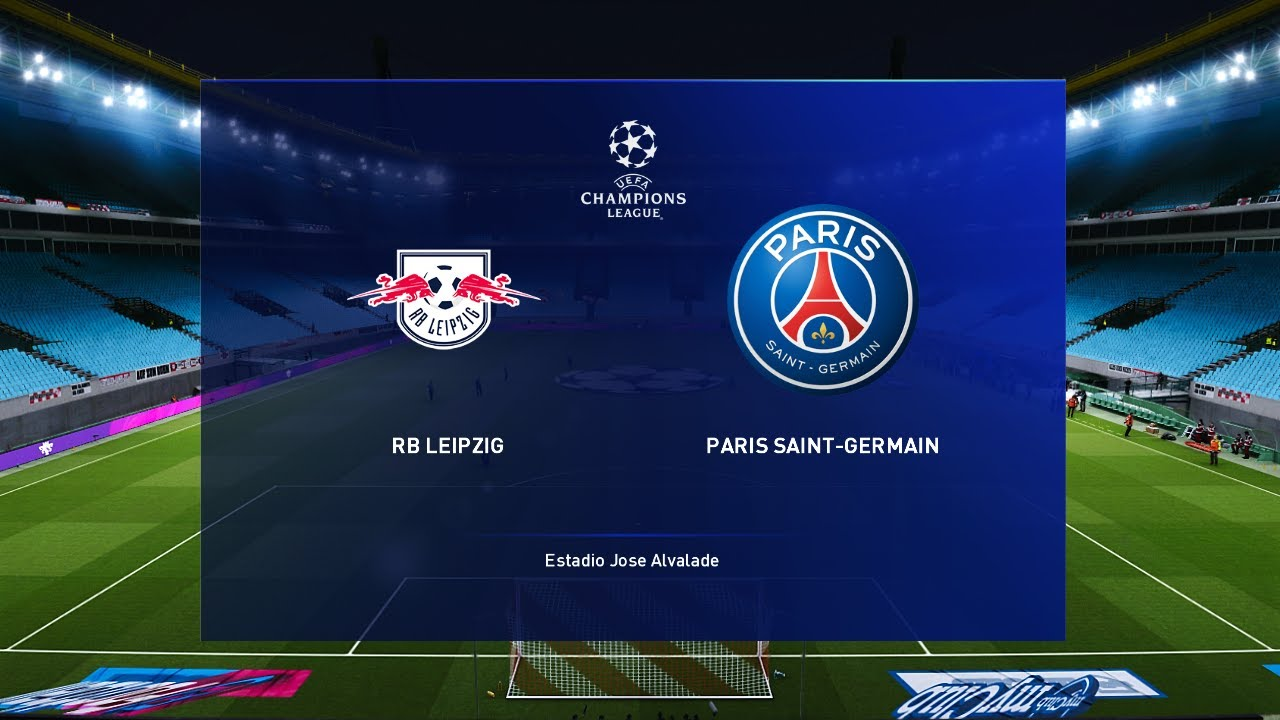 Rb Leipzig Vs Psg Champions League 18 Aug 2020 Gameplay Youtube