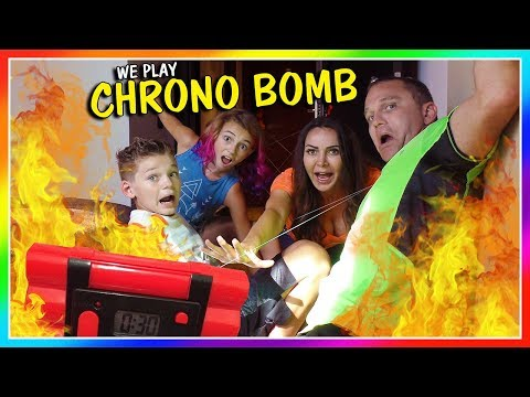 CHRONO BOMB GAME IN OUR HOTEL | We Are The Davises