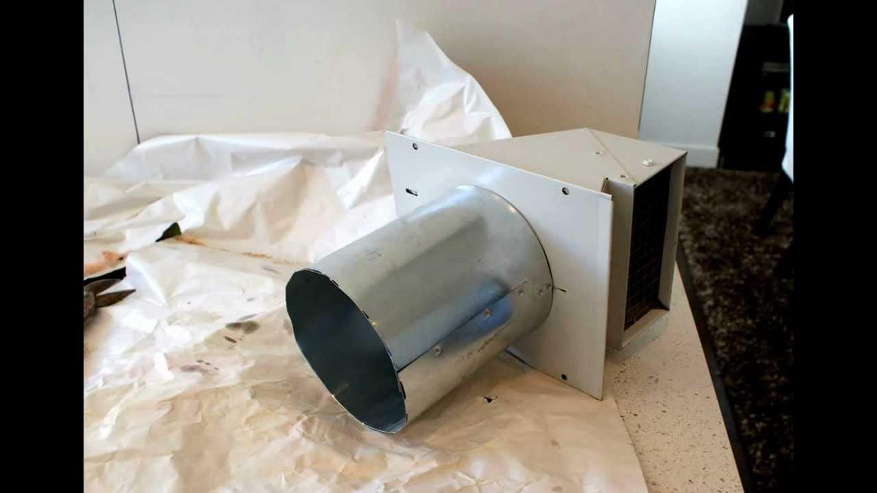 Range Hood Typical Installation ( Victory Range Hoods