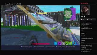 Live fortnite #PP with my little gamer #codecreaXMISS_GAMEUSE_YT liker you subscribe