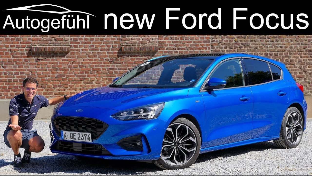All New Ford Focus St Line Full Review 2019 Hatch Vs Estate Comparison Neu