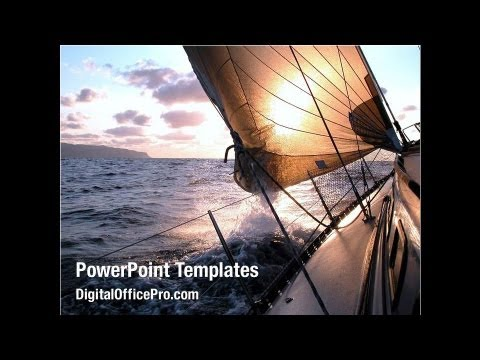 Sailing boat powerpoint template backgrounds digitalofficepro sailing boat powerpoint template backgrounds digitalofficepro 08042 toneelgroepblik Choice Image